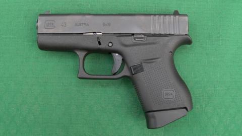 Glock 43 samonabíjecí pistole